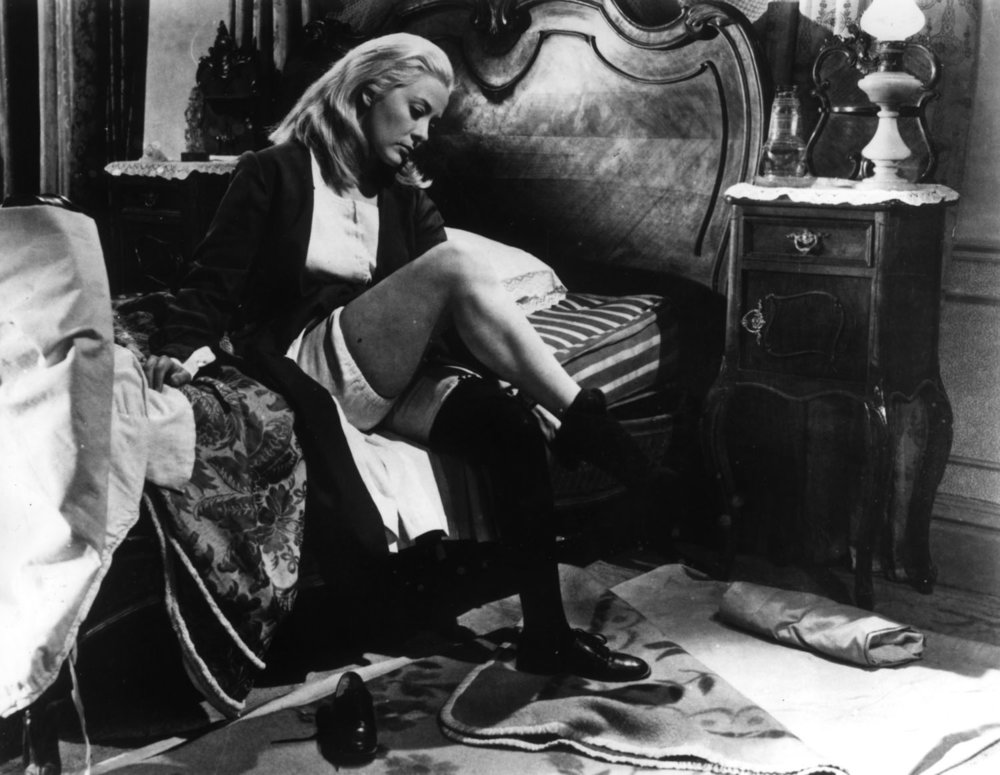 Silvia Pinal inLuis Buñuel'sVIRIDIANA. Credit: Janus Films.
