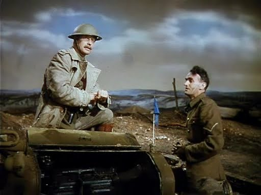 Roger Livesey and John Laurie in The Life and Death of Colonel Blimp