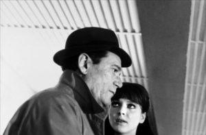Alphaville - Eddie Constantine, Anna Karina
