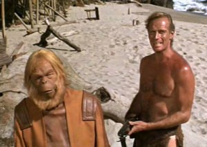 Planet of the Apes - Maurice Evans, Charlton Heston