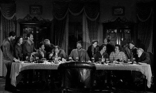 Parody of The Las Supper in Luis Buñuel's Viridiana