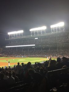 The lights at Wrigley Field weren't installed until 1988