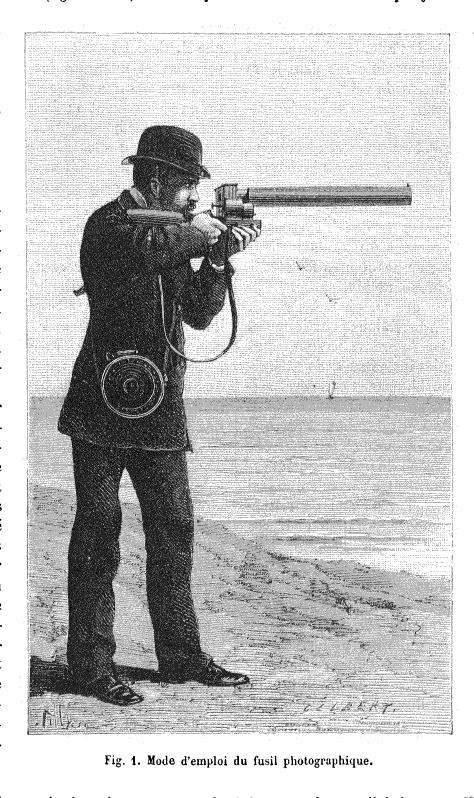 Marey's chronophotographic gun
